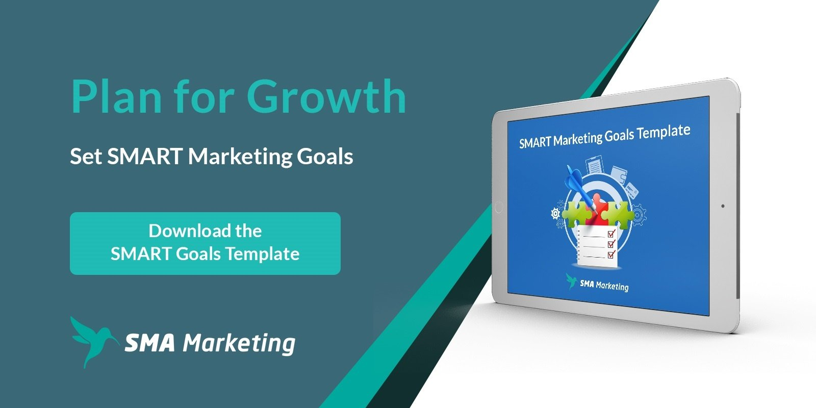 SMART Marketing Goals Template download