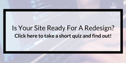 Website Redesign Quiz
