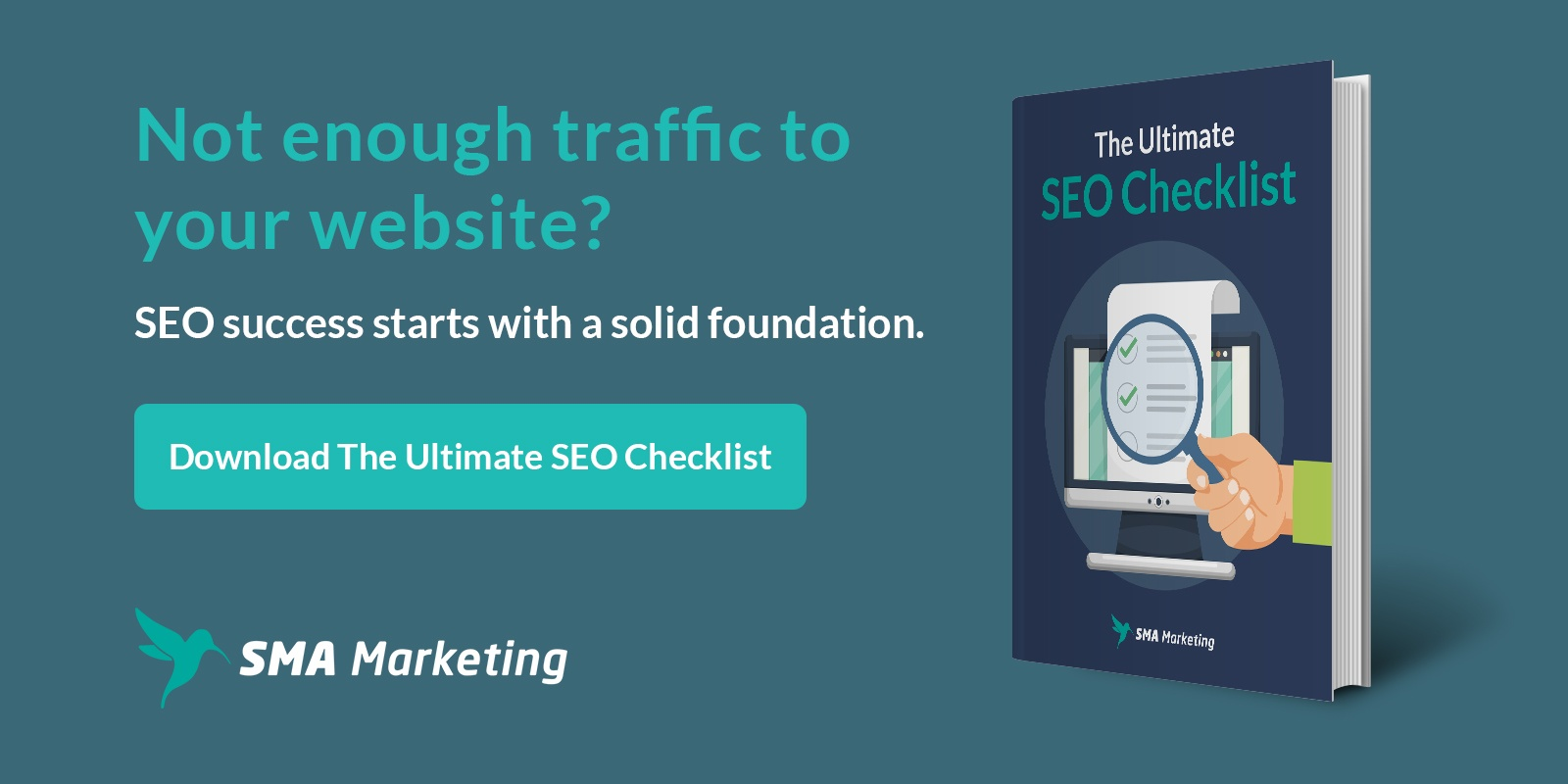 The Ultimate SEO Checklist - increase website traffic