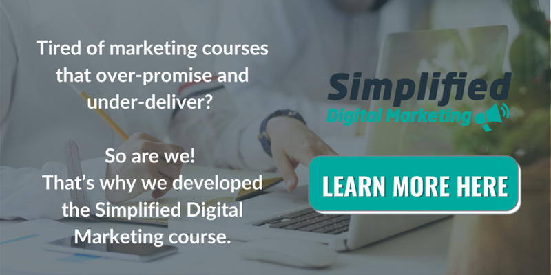 Simplified Digital Marketing Course