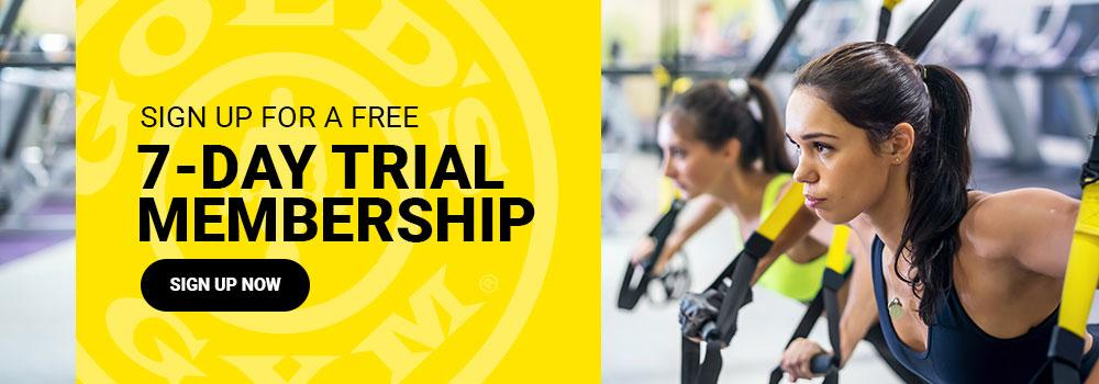 7-Day Trial Pass at Gold's Gym Northwest