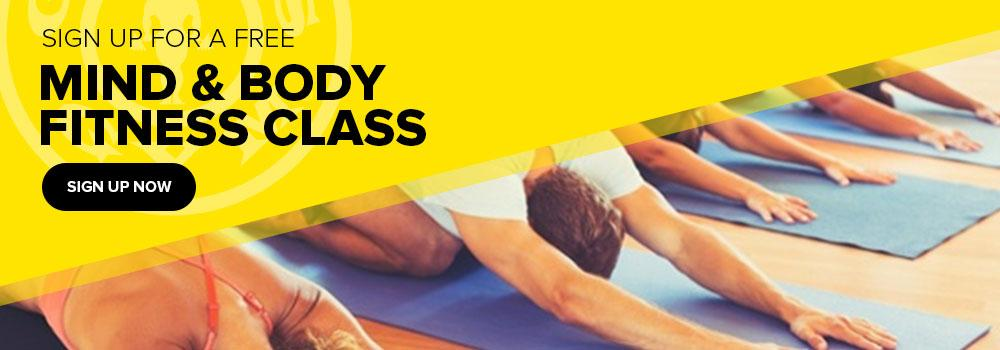 mind and body fitness class