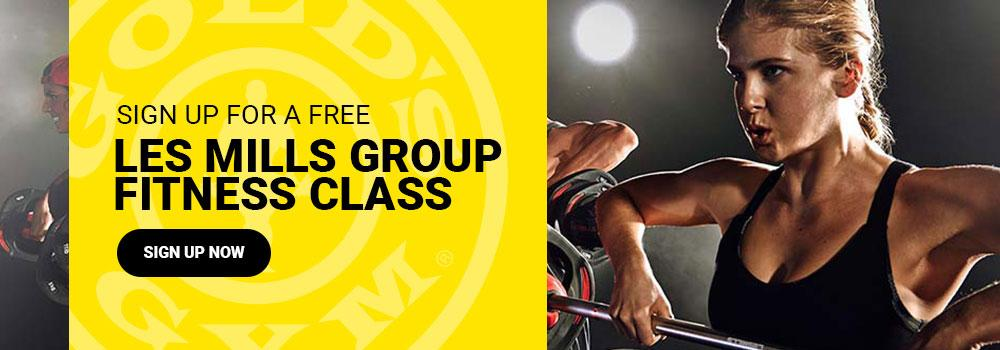 Free Les Mills Class at Golds Gym Northwest