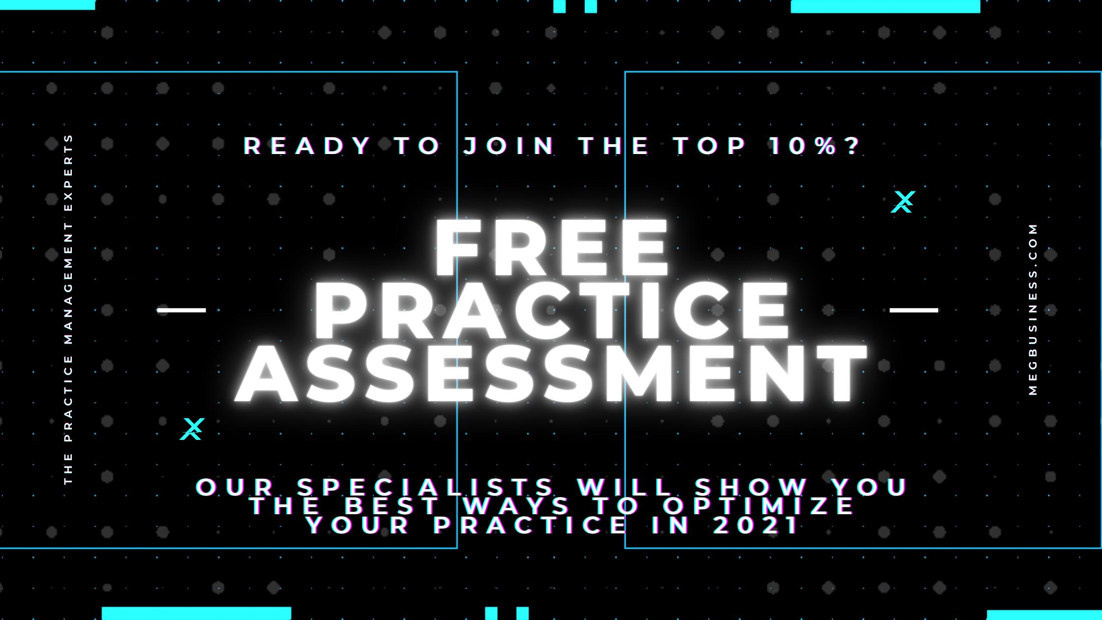 Free Practice Assessment from MEG