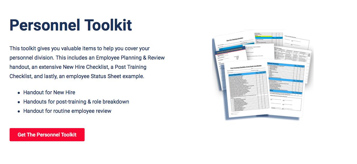 Practice Management Personnel Toolkit