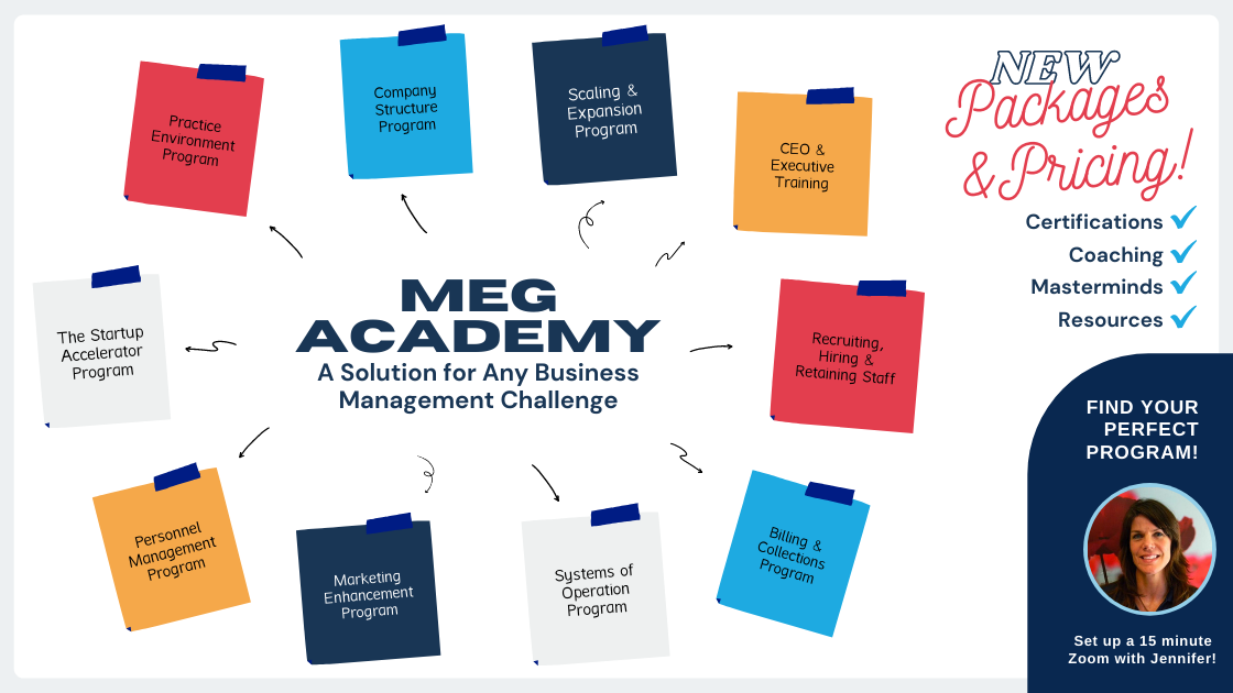 MEG Academy - Physical Therapy Business Management Solutions