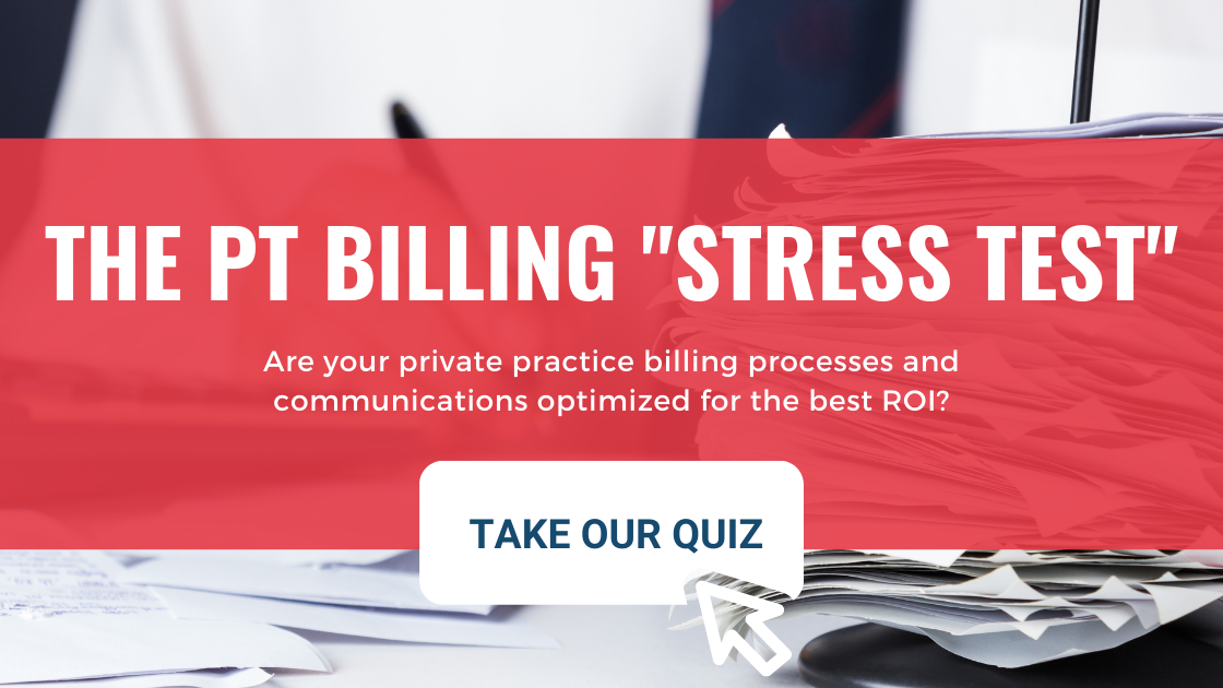 Physical Therapy Billing Test