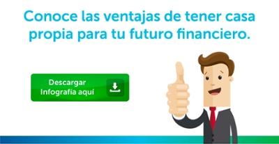 Infografía: Ventajas de comprar casa para tu futuro financiero