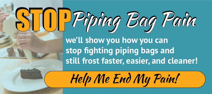 stop piping bag pain