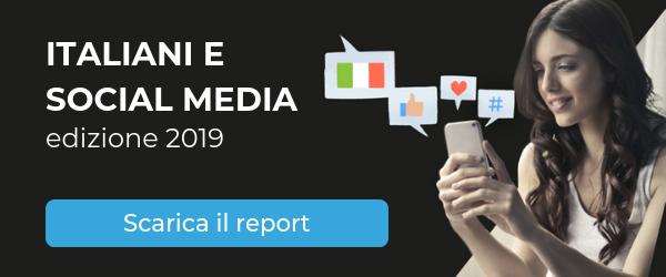 italiani e social media