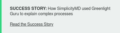 SUCCESS STORY: How SimplicityMD used Greenlight Guru to explain complex  processes  Read the Success Story