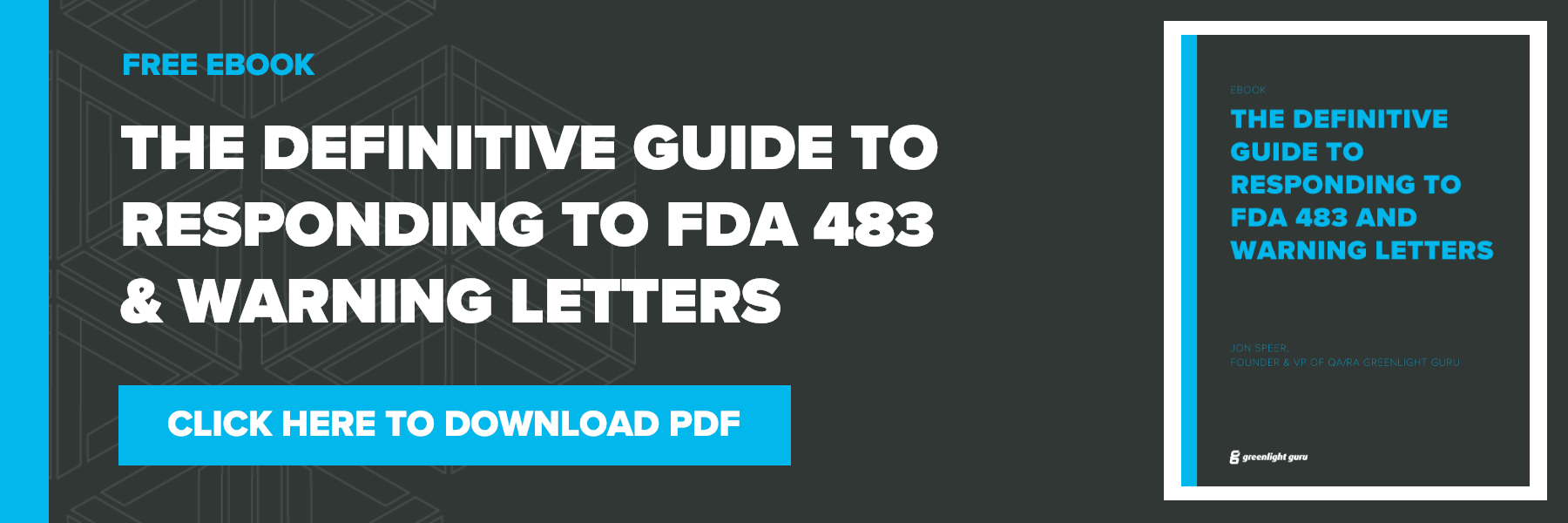 how to respond to FDA 483 observations and warning letters PDF download