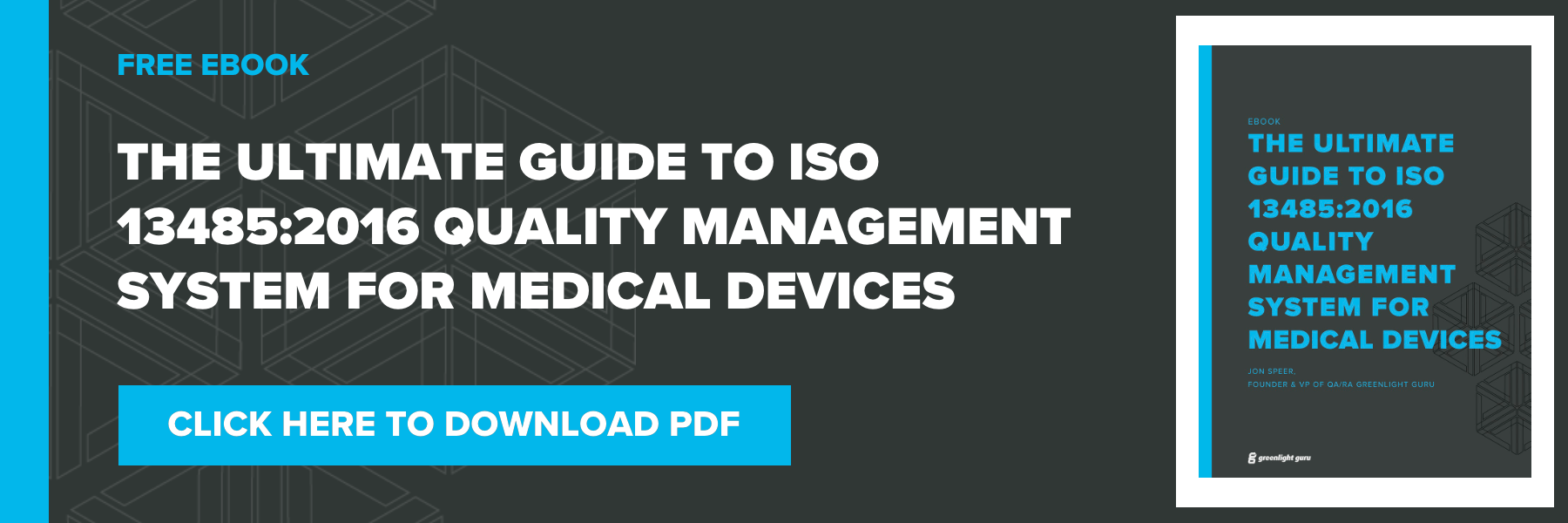 ISO 13485 2016 quality management system QMS for medical devices PDF download