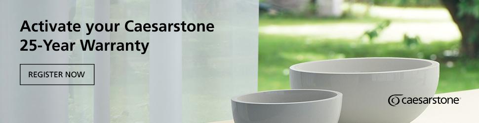 Activate your Caesarstone warranty