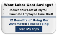 Automated Timekeeping 12 Benefits