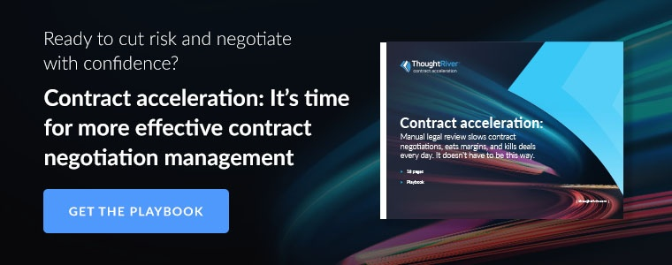 """Download our playbook """"Contract Acceleration: It's time for more effective contract negotiation management"""""""