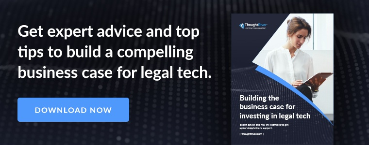 Get expert advice and top tips to build a compelling business case for legal tech. Download now