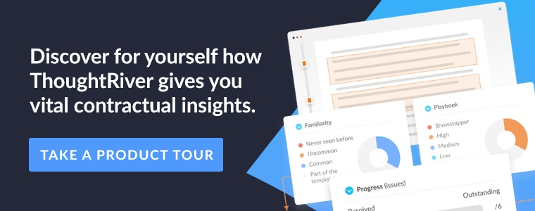 Discover for yourself how ThoughtRiver gives you vital contractual insights.  Take a product tour