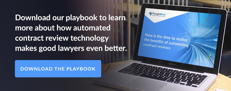 Download our playbook to learn more about how automated contract review technology makes good lawyers even better.