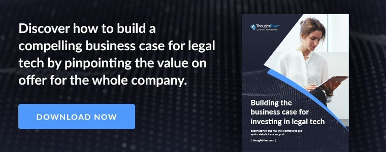 Discover how to build a compelling business case for legal tech by pinpointing the value on offer for the whole company. Download now