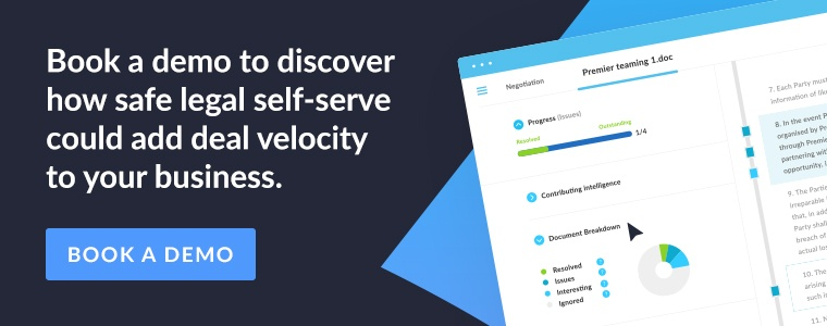 Book a demo to discover how safe legal self-serve could add deal velocity to your business