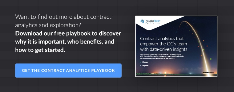 Want to find out more about contract analytics and exploration? Download our free playbook to discover why it is important, who benefits, and how to get started.