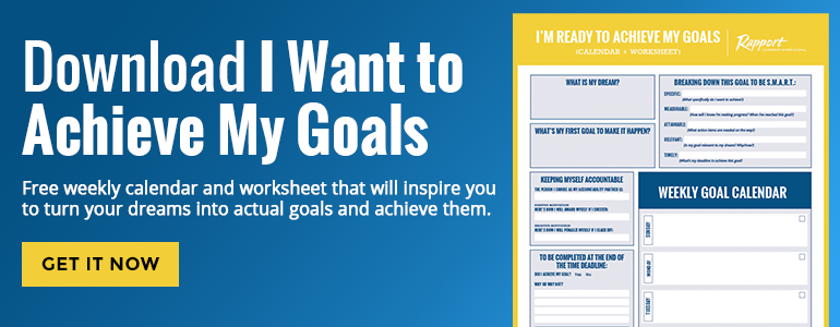 Download I Want to Achieve My Goals (Calendar & Worksheet)