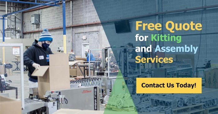 Free Quote for Kitting and Assembly Services - NewStream Enterprises