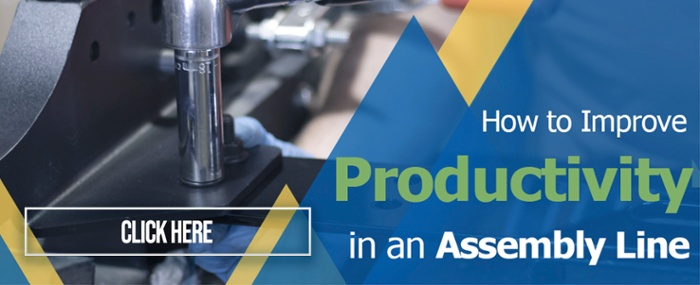 How to improve productivity in an assembly line