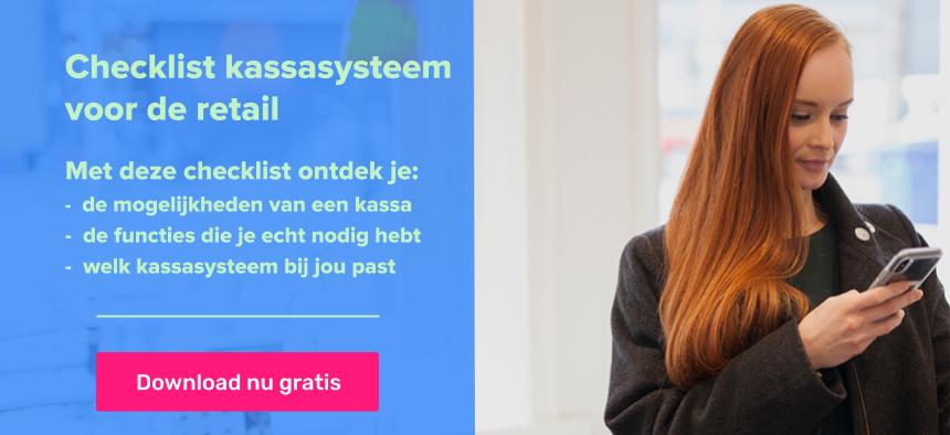 Checklist kassasysteem voor de retail