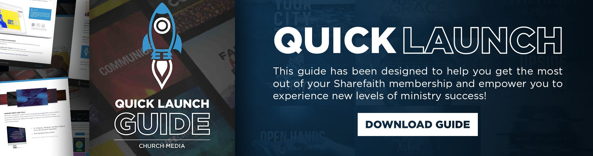 Sharefaith Media - Church Media Quick Launch Guide