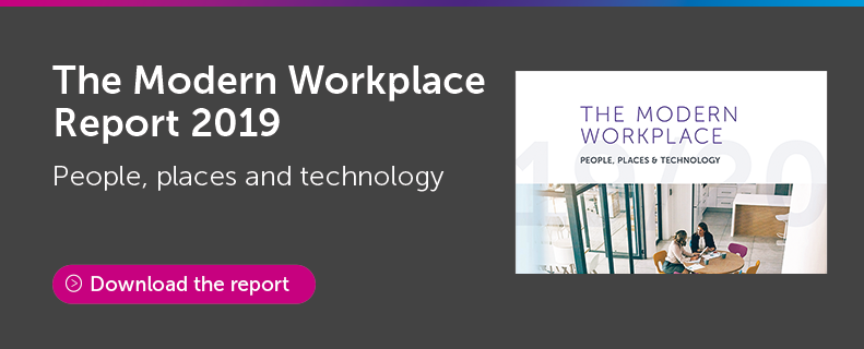 The Modern Workplace Report 2019: People, Places & Technology