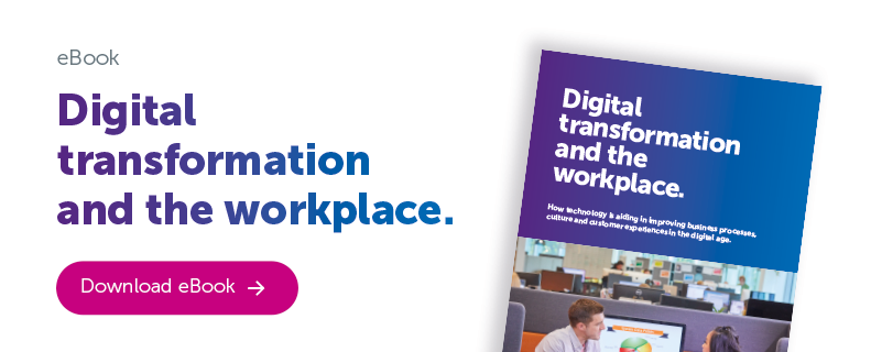 Condeco Digital transformation and the workplace eBook