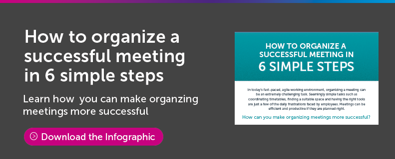 How to organise a successful meeting in 6 simple steps