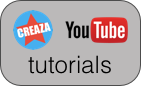 Creaza tutorials on YouTube