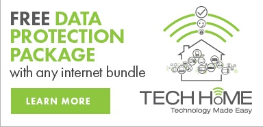 Free Data Protection Package with internet bundle