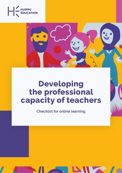 Developing the professional capacity of teachers