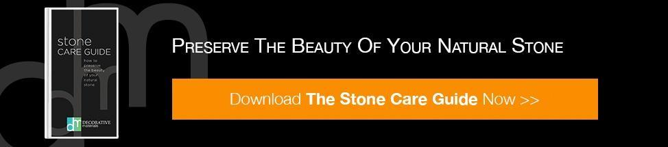 Persever the beauty of your natural stone - download the stone care guide