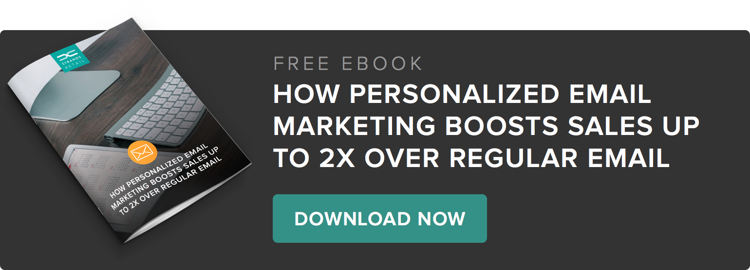 How Personalized Email marketing boosts sales up to 2X over regular email