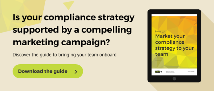 Marketing your compliance strategy