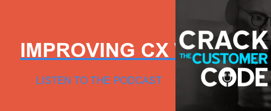 IMPROVING CX WITH AI LISTEN TO THE PODCAST