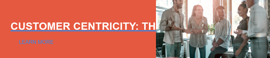 CUSTOMER CENTRICITY: THE DEFINITIVE GUIDE LEARN MORE