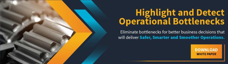 Highlight and detect operational bottlenecks