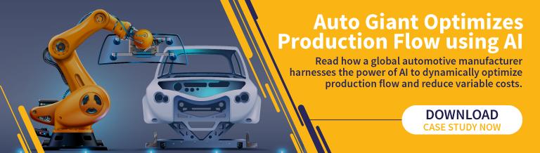 Auto Giant Optimizes Production flow using AI