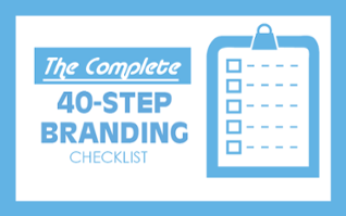 The Complete 40-Step Branding Checklist
