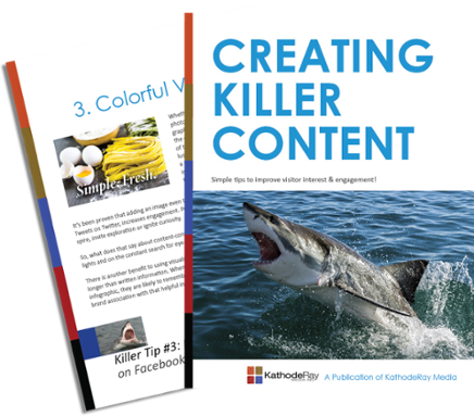 Creating Killer Content eBook