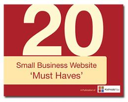 Small Biz Website Must-Haves eBook