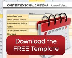 Free Content Calendar Template Download
