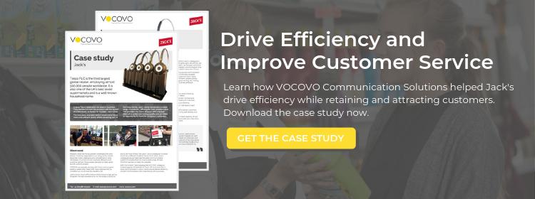 Jack's by Tesco Case Study Improve Efficiency | Vocovo