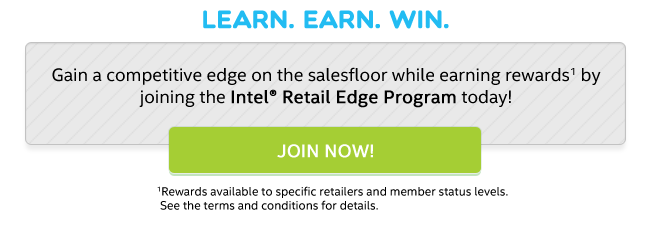 Join the Intel® Retail Edge Program